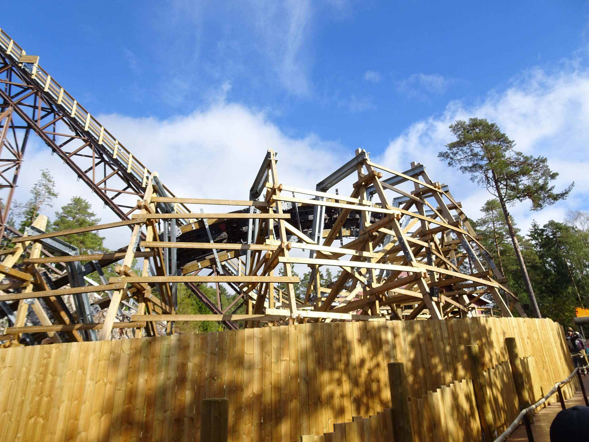 wildfire5 Wildfire   Fastest Wooden Coaster in Europe