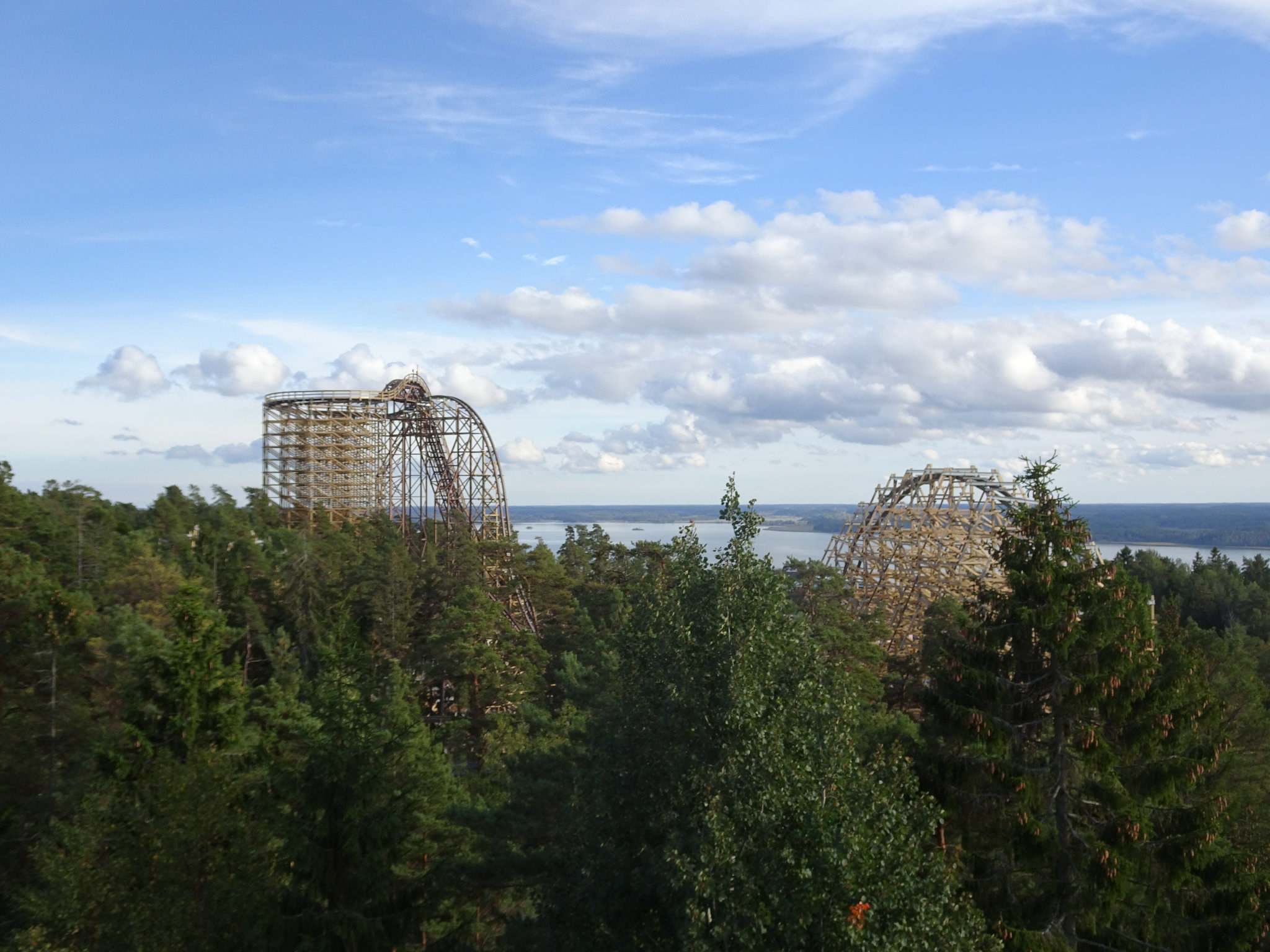 wildfire7 Wildfire   Fastest Wooden Coaster in Europe