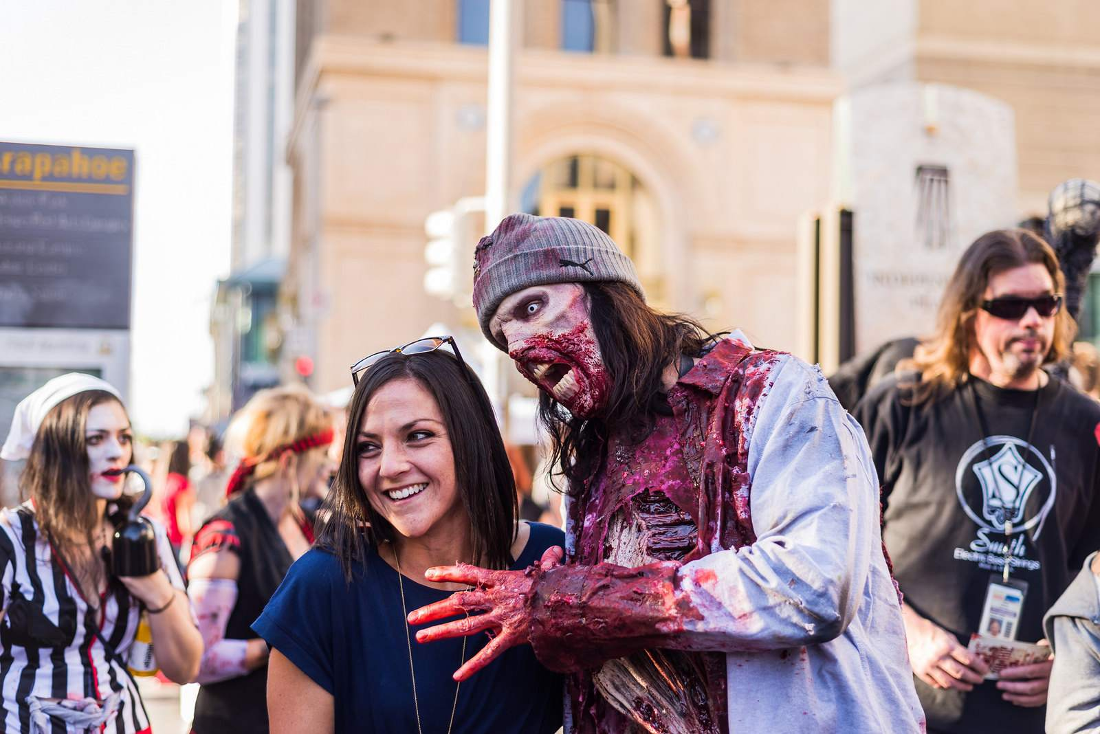 zombie crawl12 The Zombie Crawl in Downtown Denver