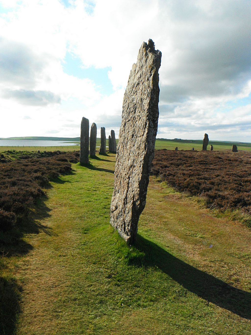 ring of brodgar1 Ancient sites   Ring of Brodgar in Ornkey