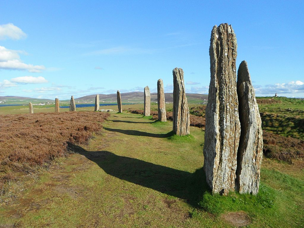 ring of brodgar4 Ancient sites   Ring of Brodgar in Ornkey