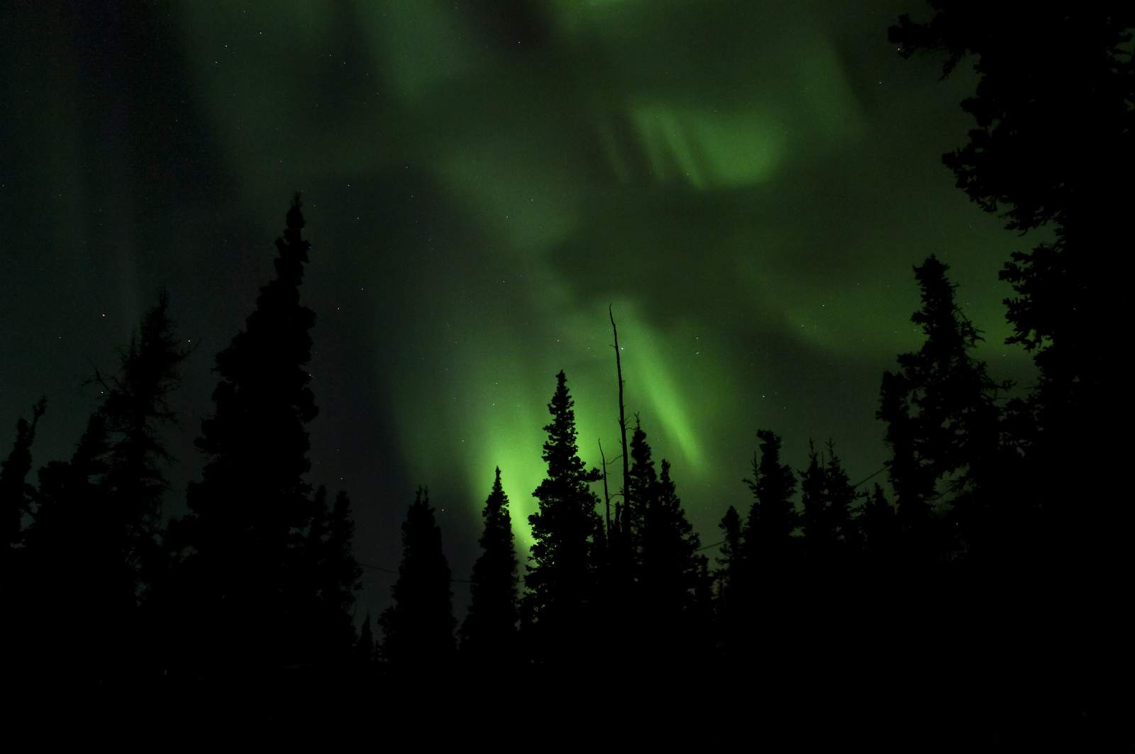 aurora borealis2 Aurora over Denali National Park and Preserve