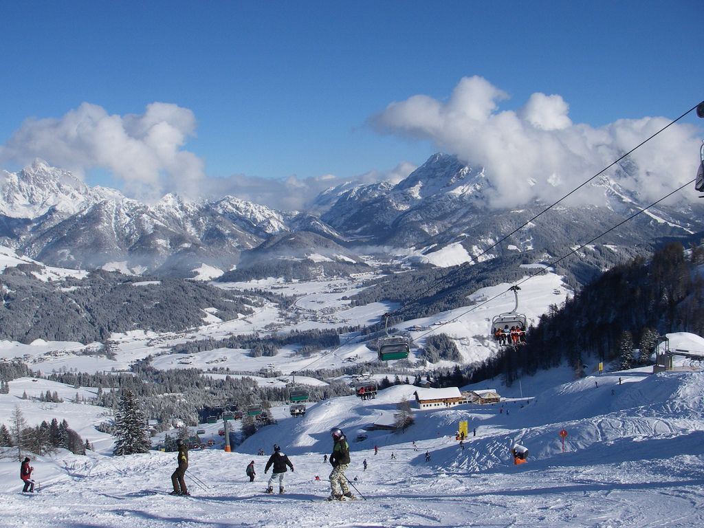 ski alps Best Skiing Holiday in Austrian Alps over Christmas