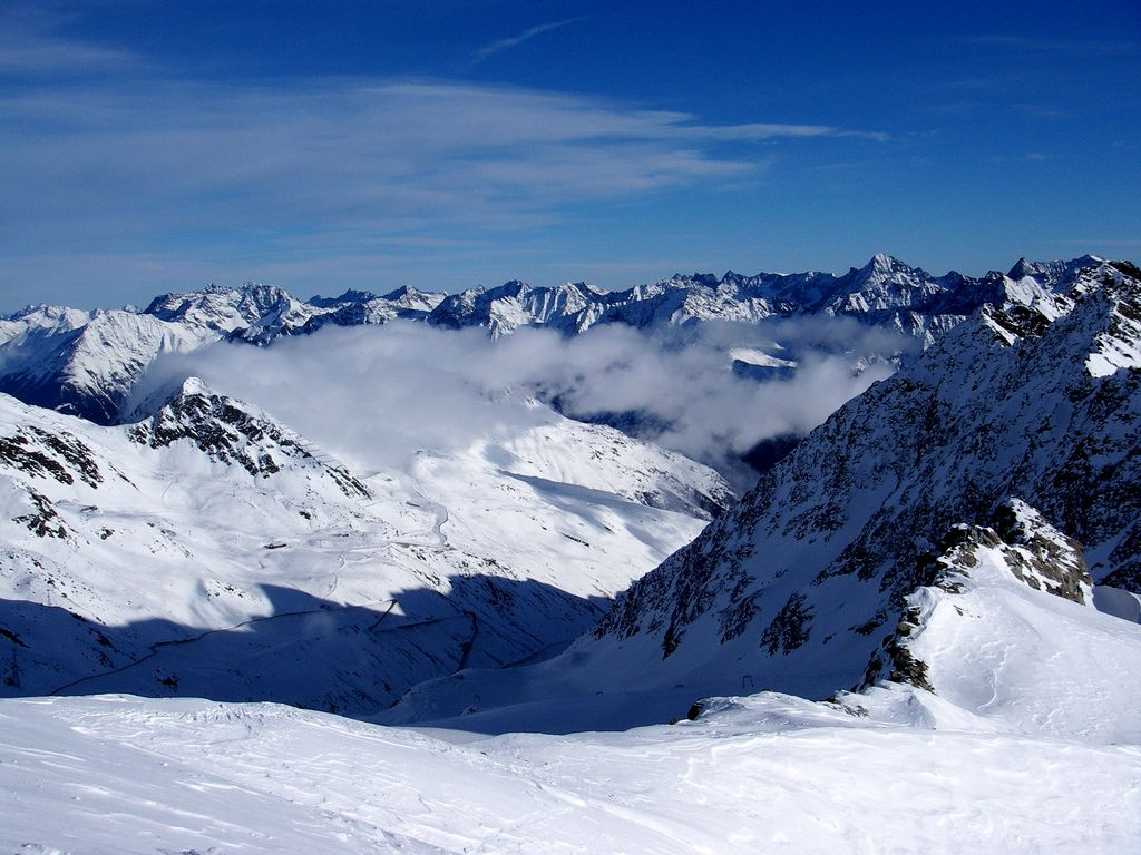 ski alps9 Best Skiing Holiday in Austrian Alps over Christmas