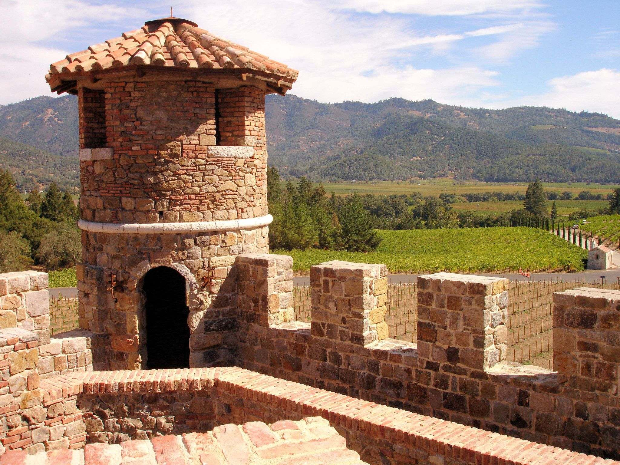 castello di amorosa3 Castello di Amorosa Winery in Napa Valley, California