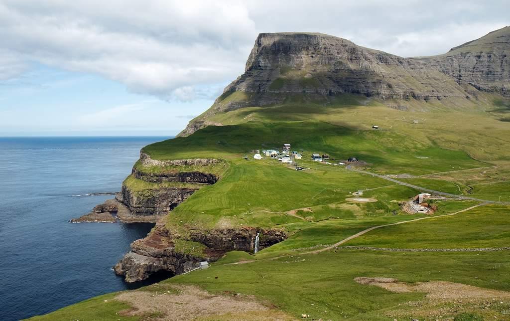 gasadalur Gasadalur   Fairytale Village in the Faroe Island