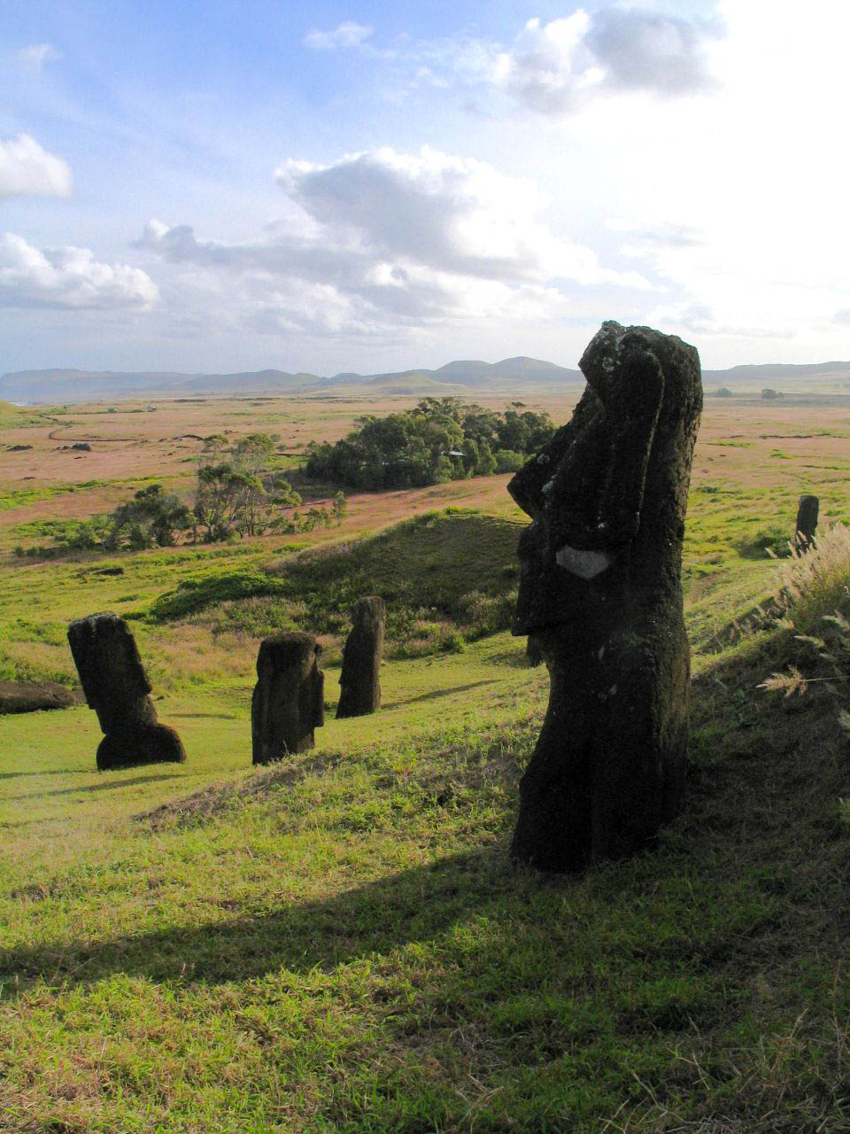rapa nui8 Gigantic Moai Statues and Heads in Polynesian Easter Island