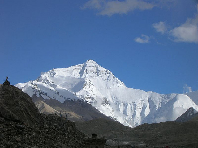 mount everest1 Mount Everest   Highest Mountain and Basecamp in the World