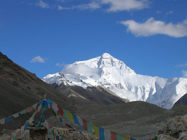 mount everest3 Mount Everest   Highest Mountain and Basecamp in the World