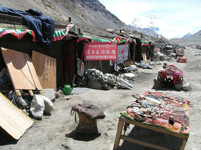 mount everest8 Mount Everest   Highest Mountain and Basecamp in the World