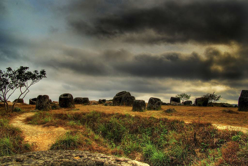 plain jars Mysterious Plain of Jars in Laos