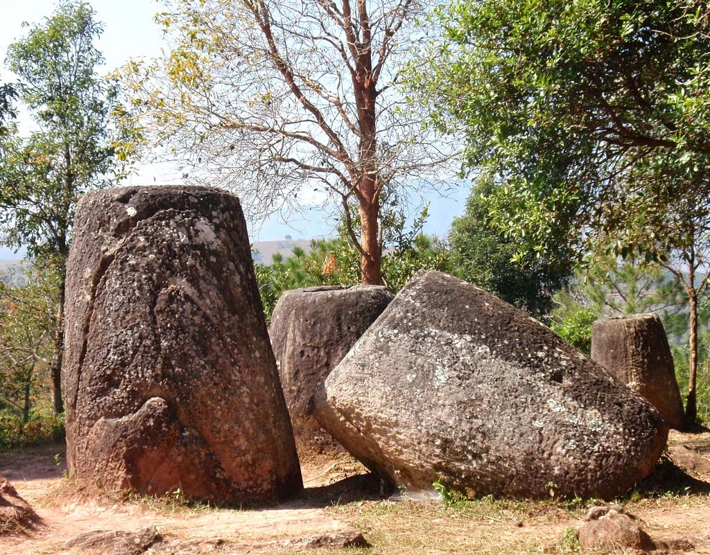 plain jars10 Mysterious Plain of Jars in Laos