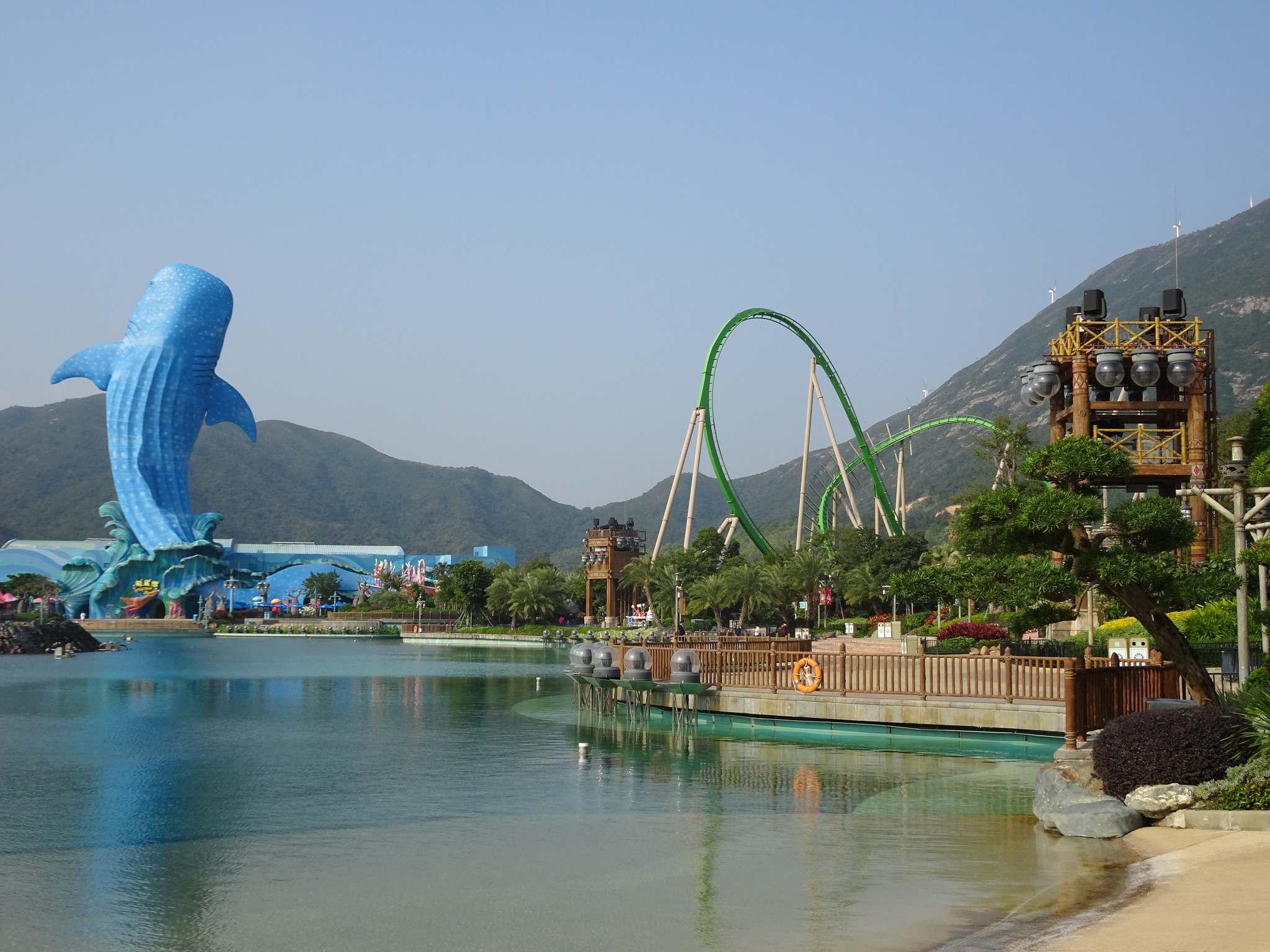 Chimelong Ocean Kingdom Worlds Largest Aquarium
