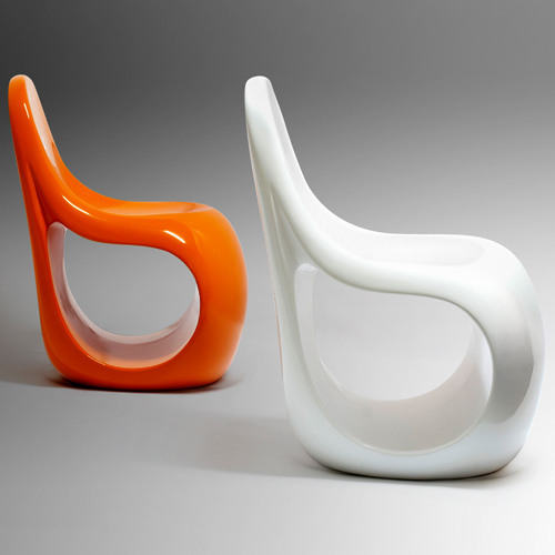 designer chairs1 Cool Fiberglass Furniture