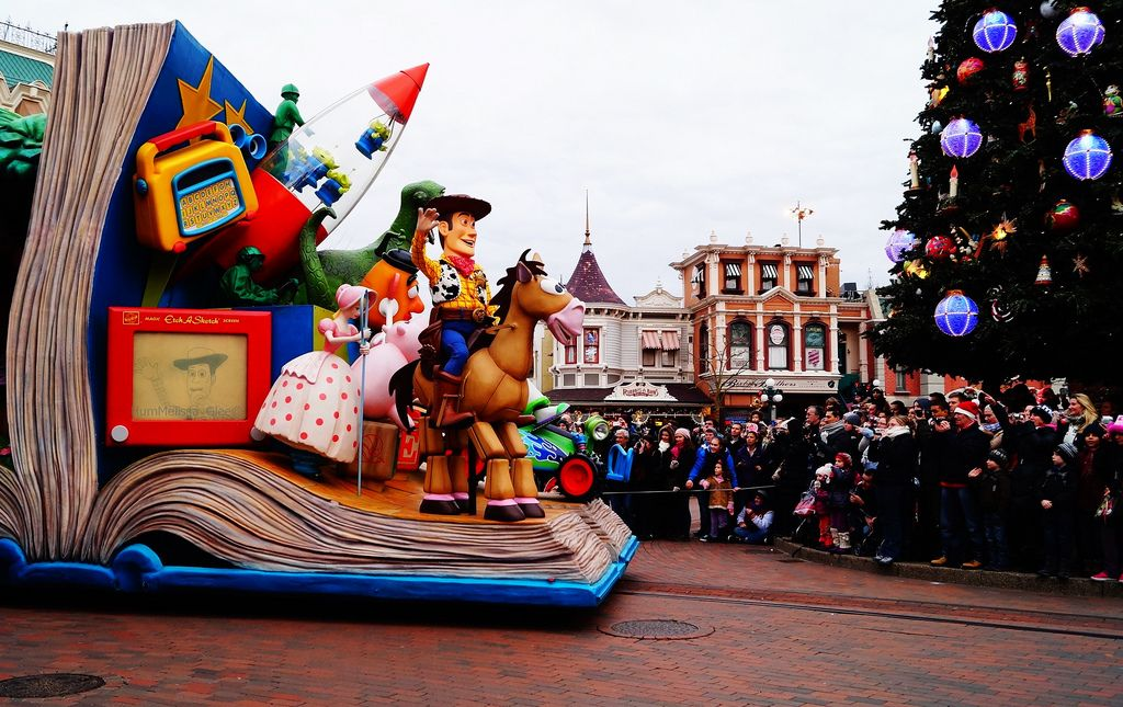 disneyland paris Disney Magic on Parade, Disneyland Paris