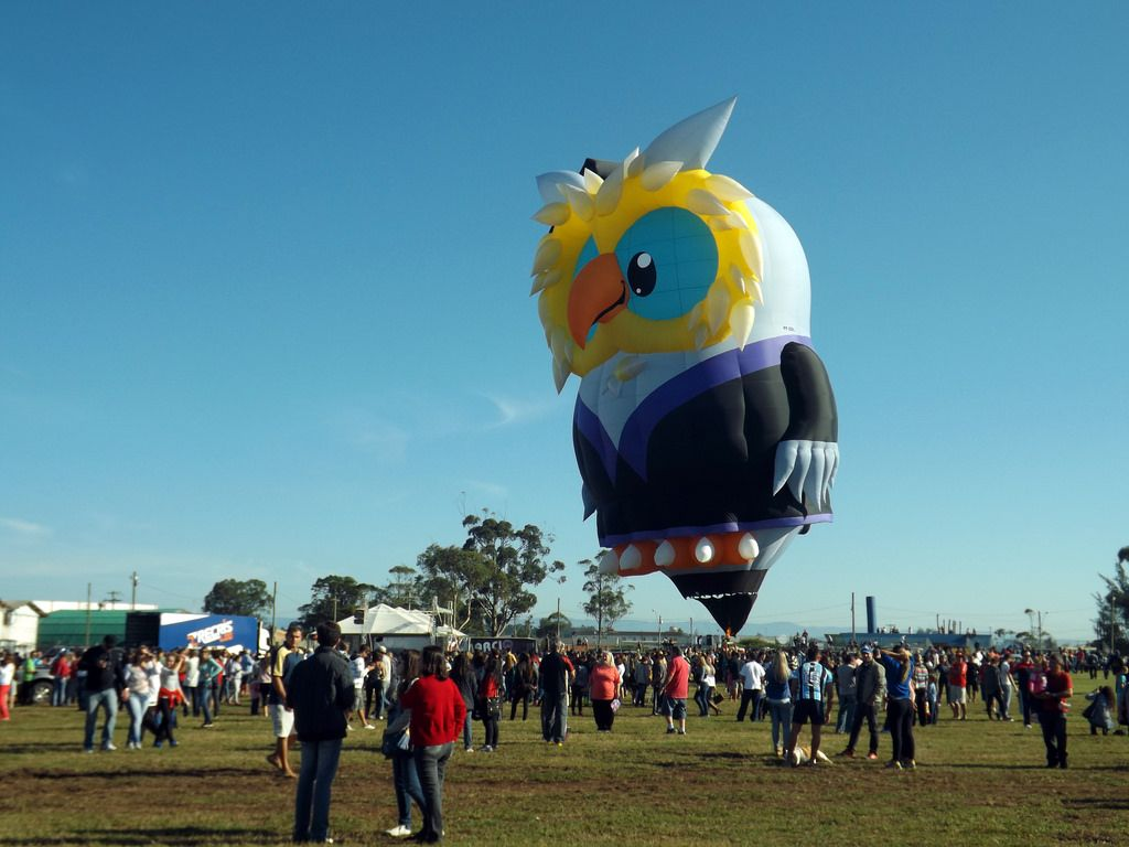 balloon festival International Balloon Festival in Torres, Brazil