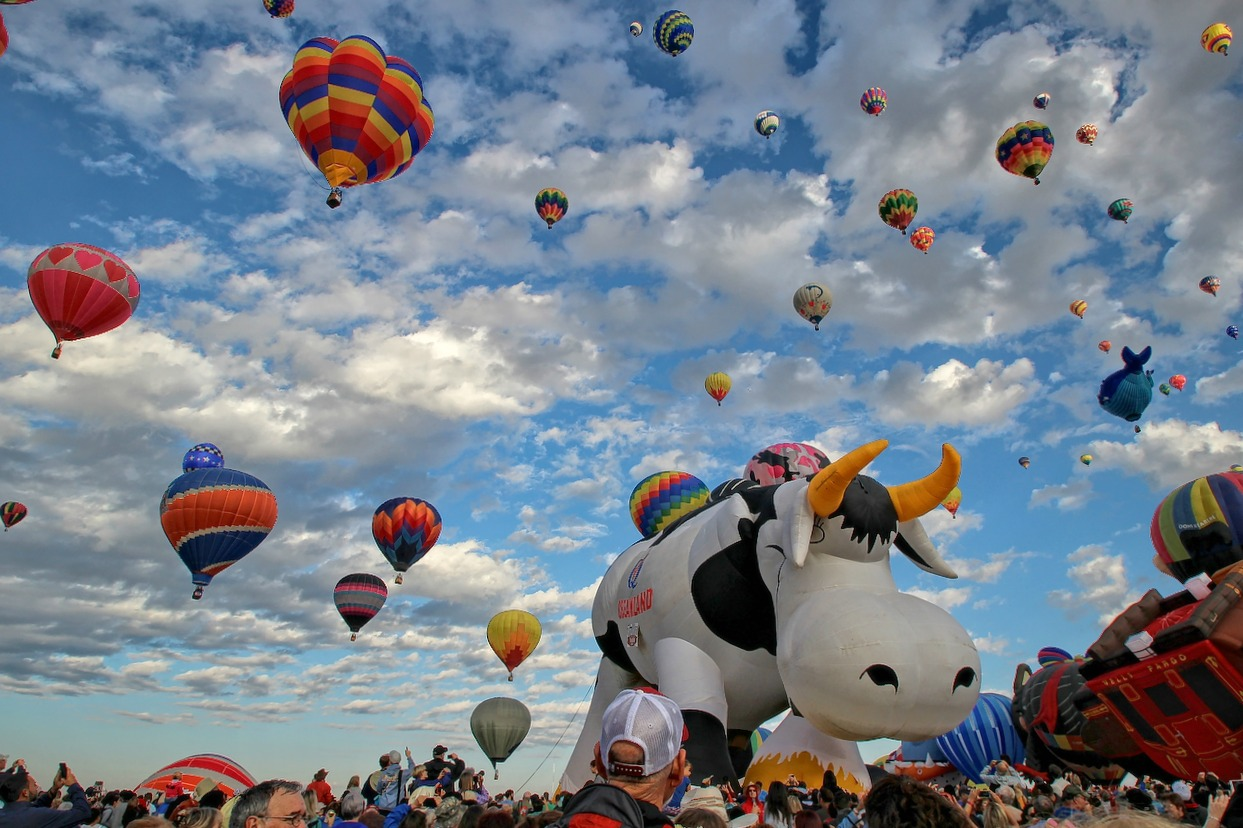 balloon fiesta The Largest International Hot Air Balloon Fiesta in Albuquerque