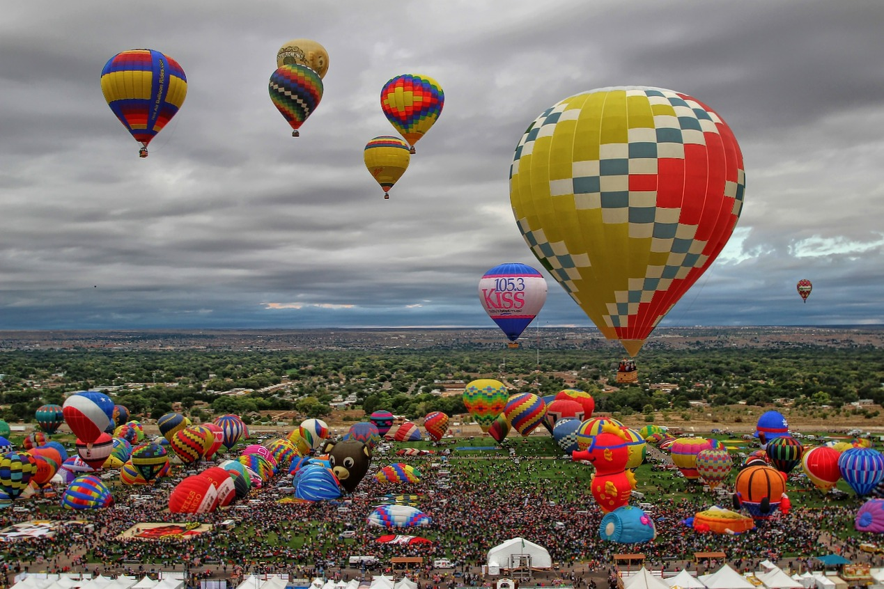 balloon fiesta5 The Largest International Hot Air Balloon Fiesta in Albuquerque