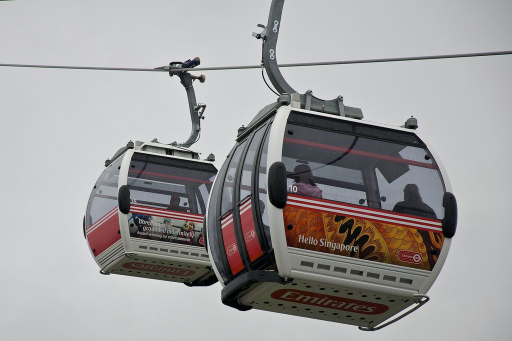 emirates air line9 London Olympics 2012   Cable Car over Thames