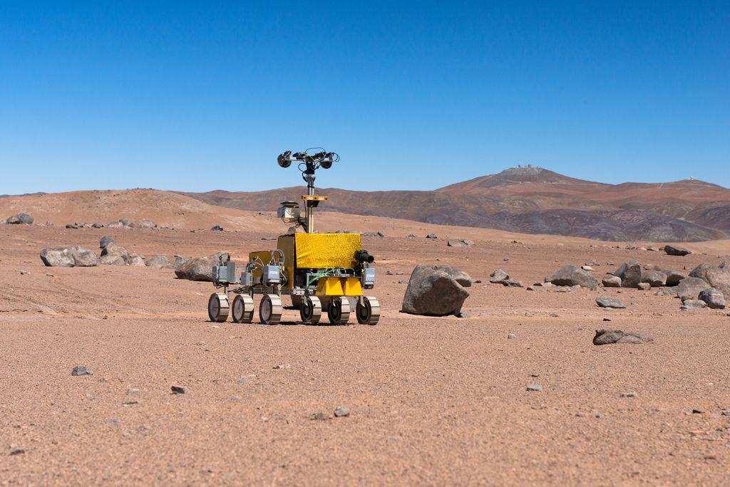 mars rover Mars Rover was Tested in the Atacama Desert