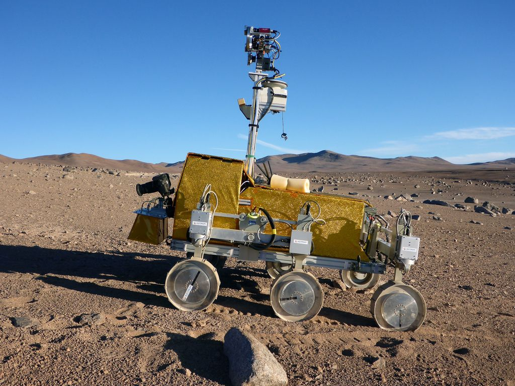 mars rover1 Mars Rover was Tested in the Atacama Desert