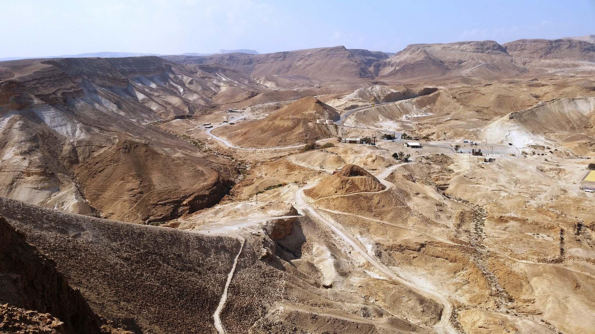 masada10 Masada Desert Fortress in Israel