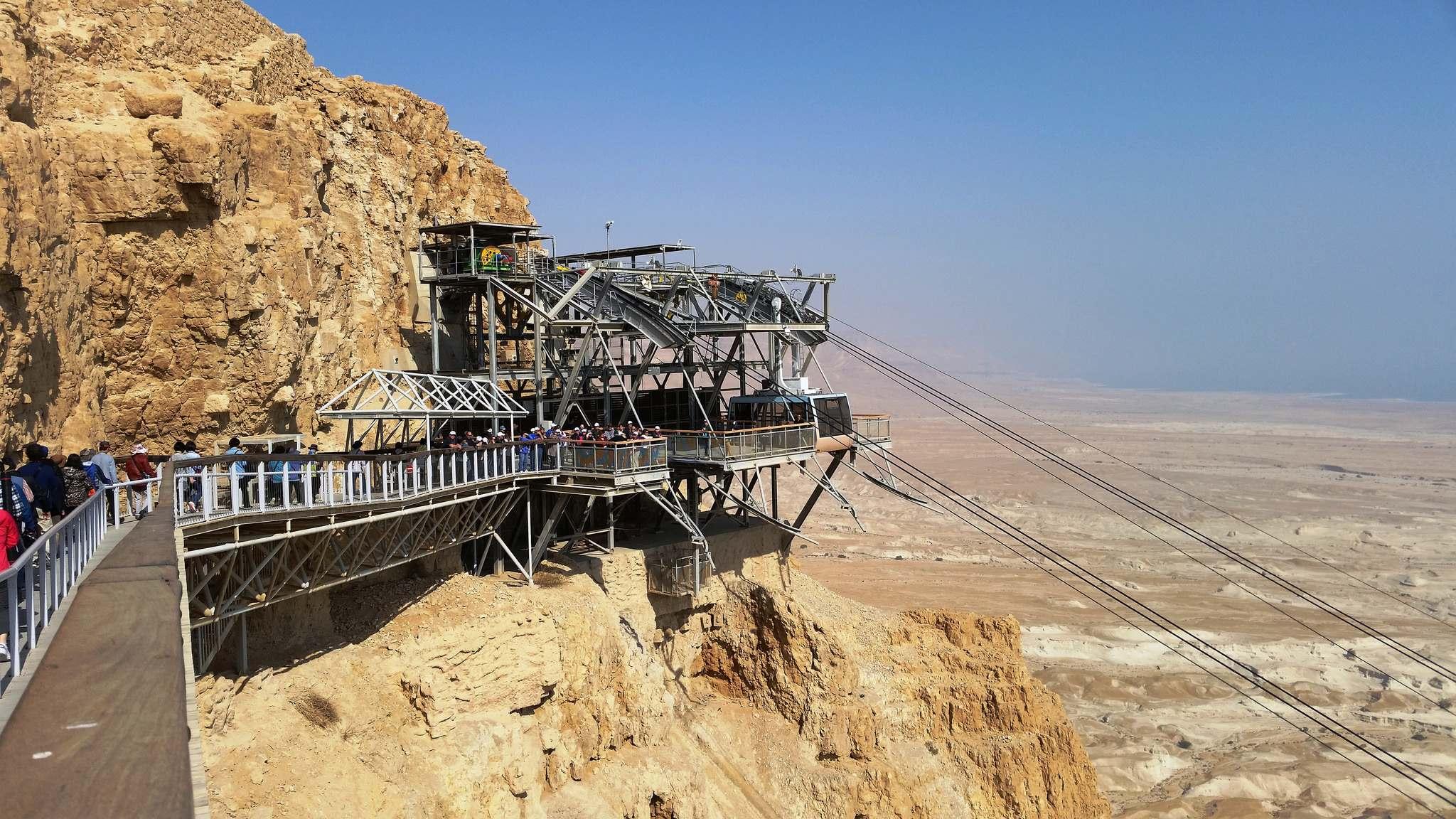 masada3 Masada Desert Fortress in Israel