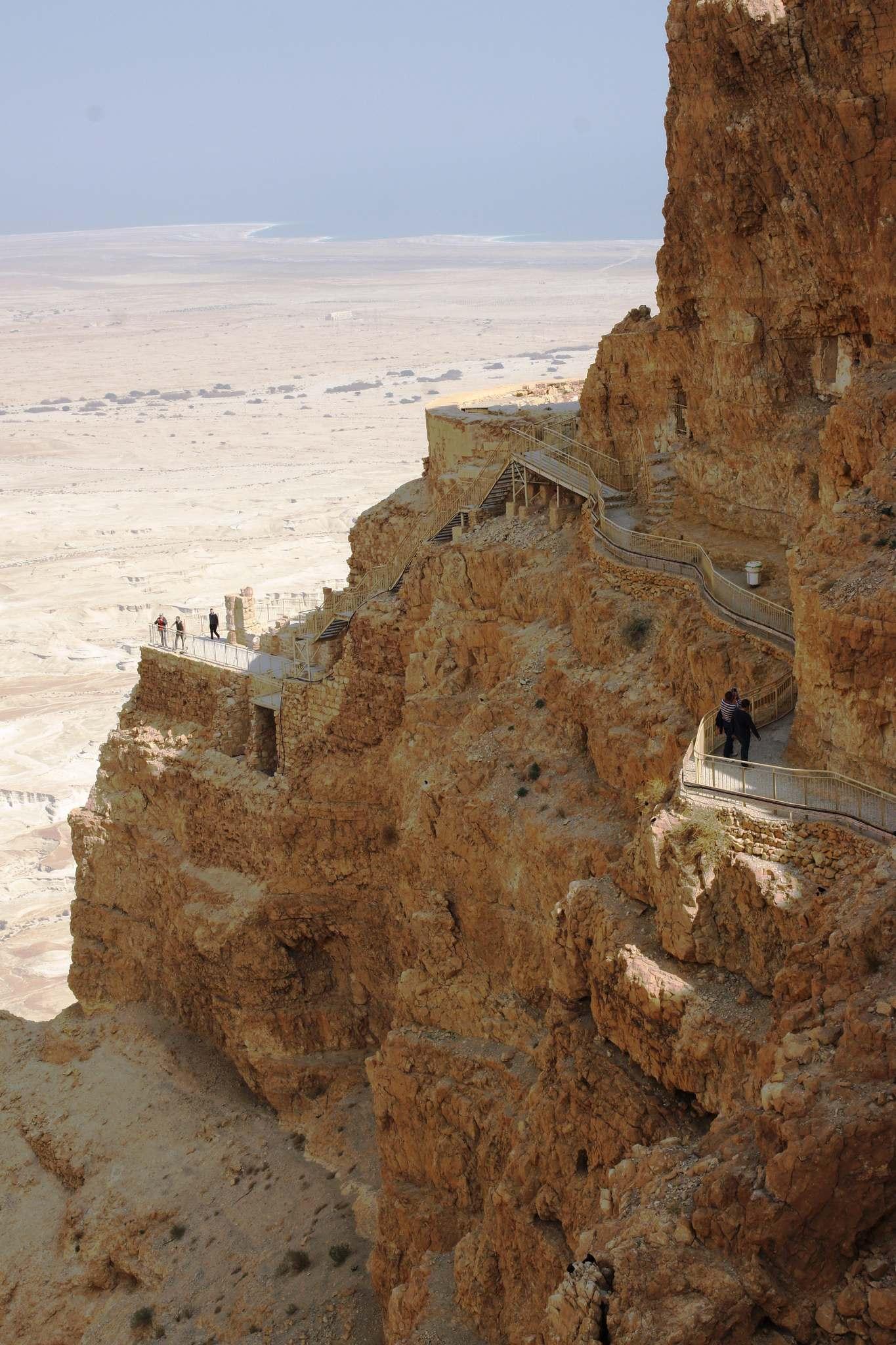 masada5 Masada Desert Fortress in Israel