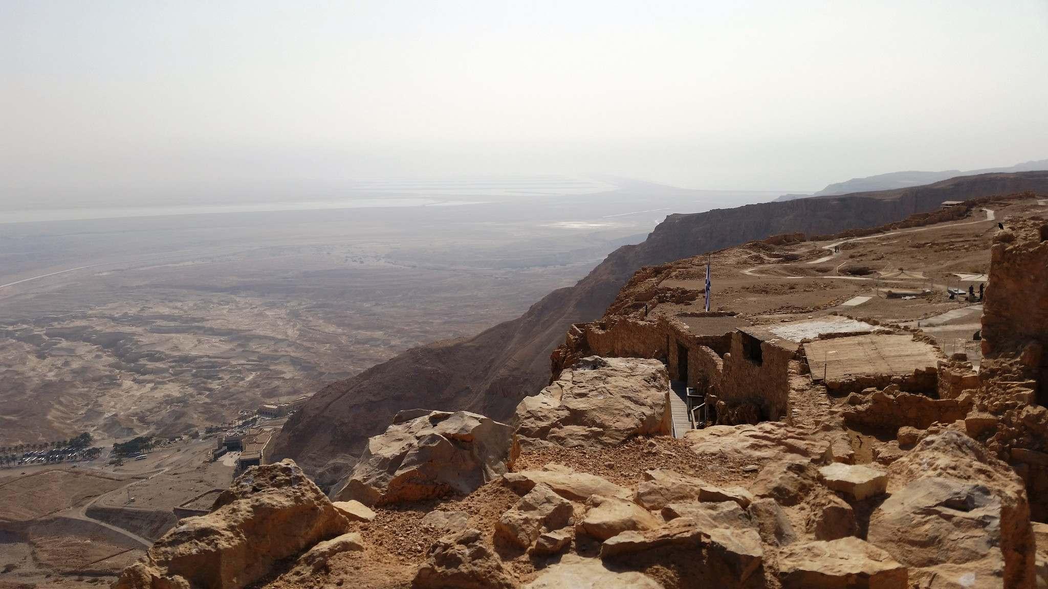 masada6 Masada Desert Fortress in Israel