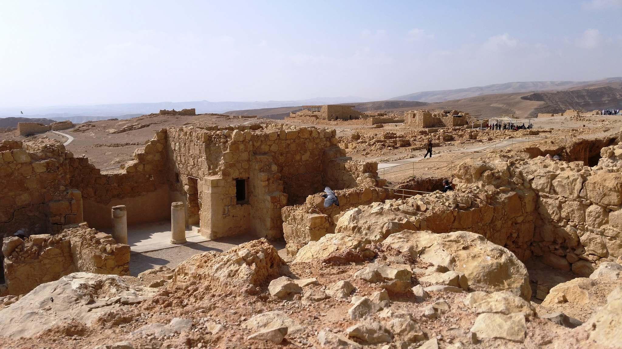 masada7 Masada Desert Fortress in Israel