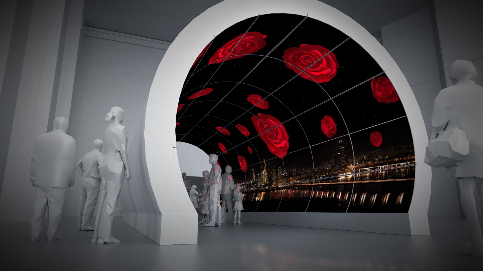 oled tv2 OLED TV Tunnel by LG