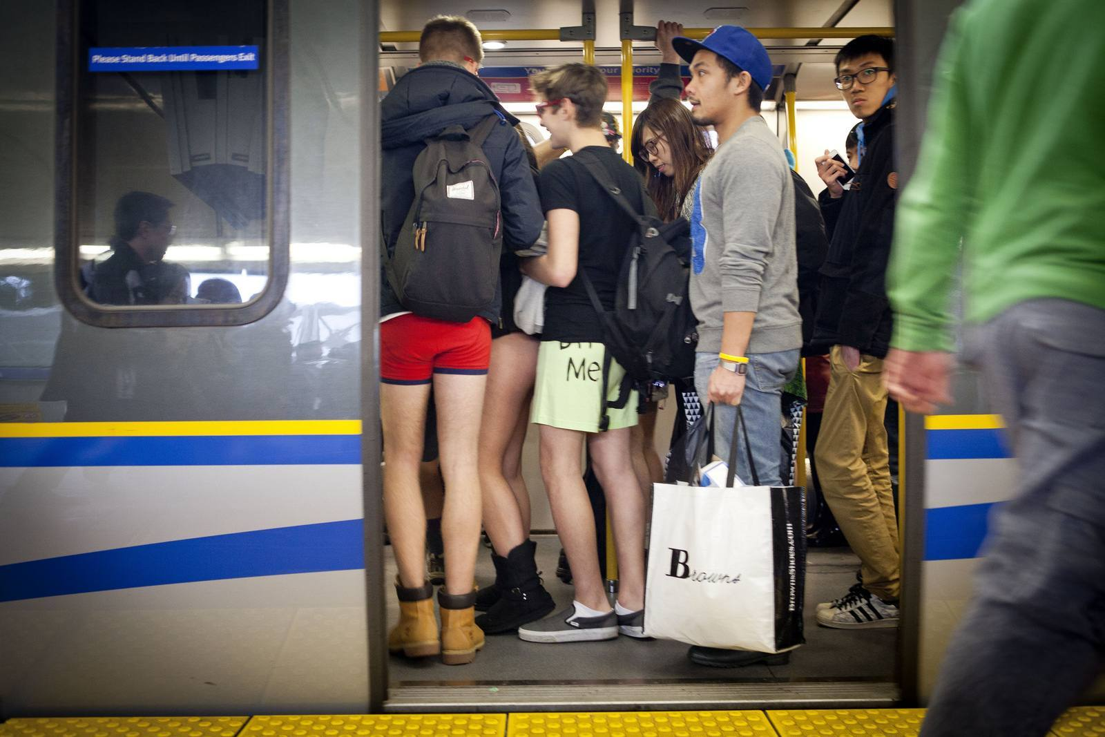no pants4 No Pants Skytrain Ride 2015 in Vancouver