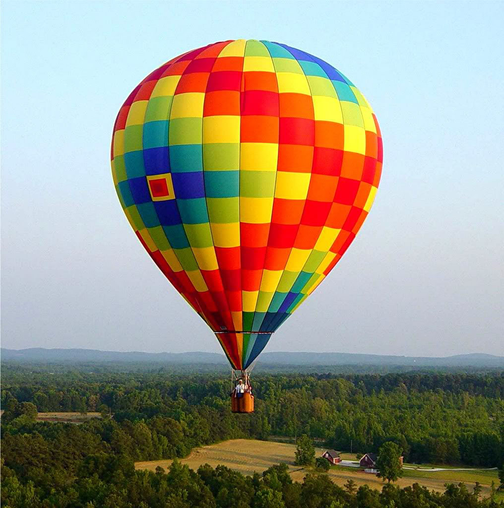 hot air baloon8 Perfect Gift   Hot Air Balloon Ride