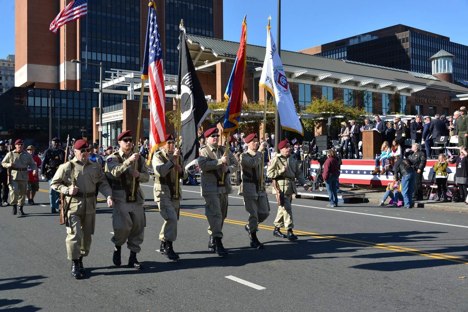 veterans day8 Philadelphia Veterans Day Parade 2015