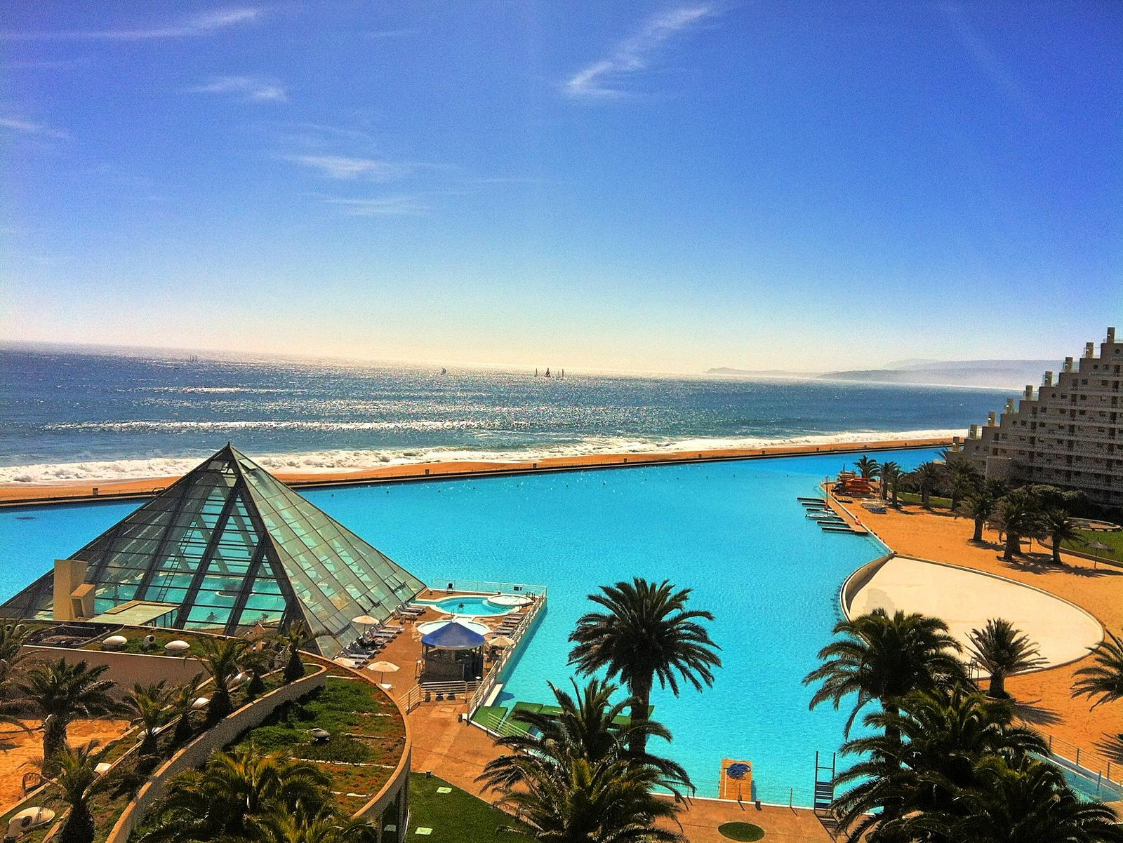 largest swimming pool San Alfonso Del Mar   The worlds Largest Swimming Pool in Chile