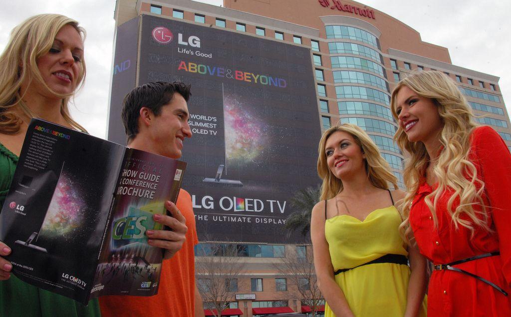 lg ces6 LG Showcase at CES 2013, Las Vegas