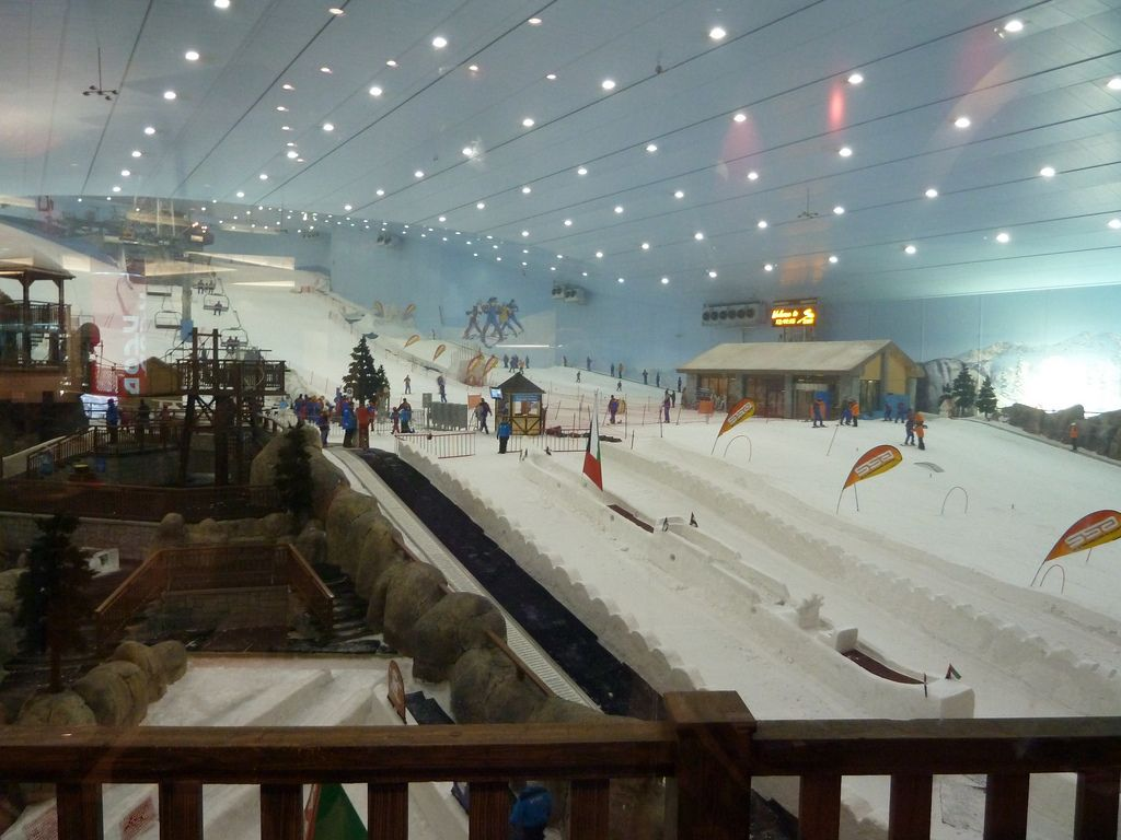 ski dubai4 Ski Dubai   Unusual Place To Ski