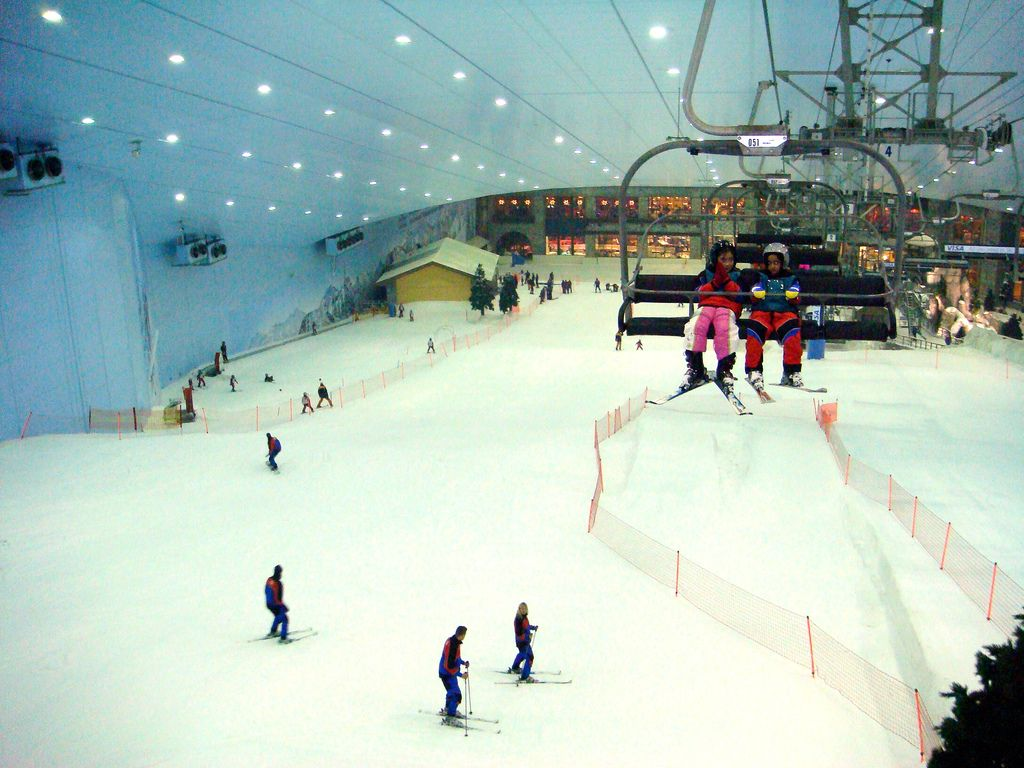 ski dubai6 Ski Dubai   Unusual Place To Ski