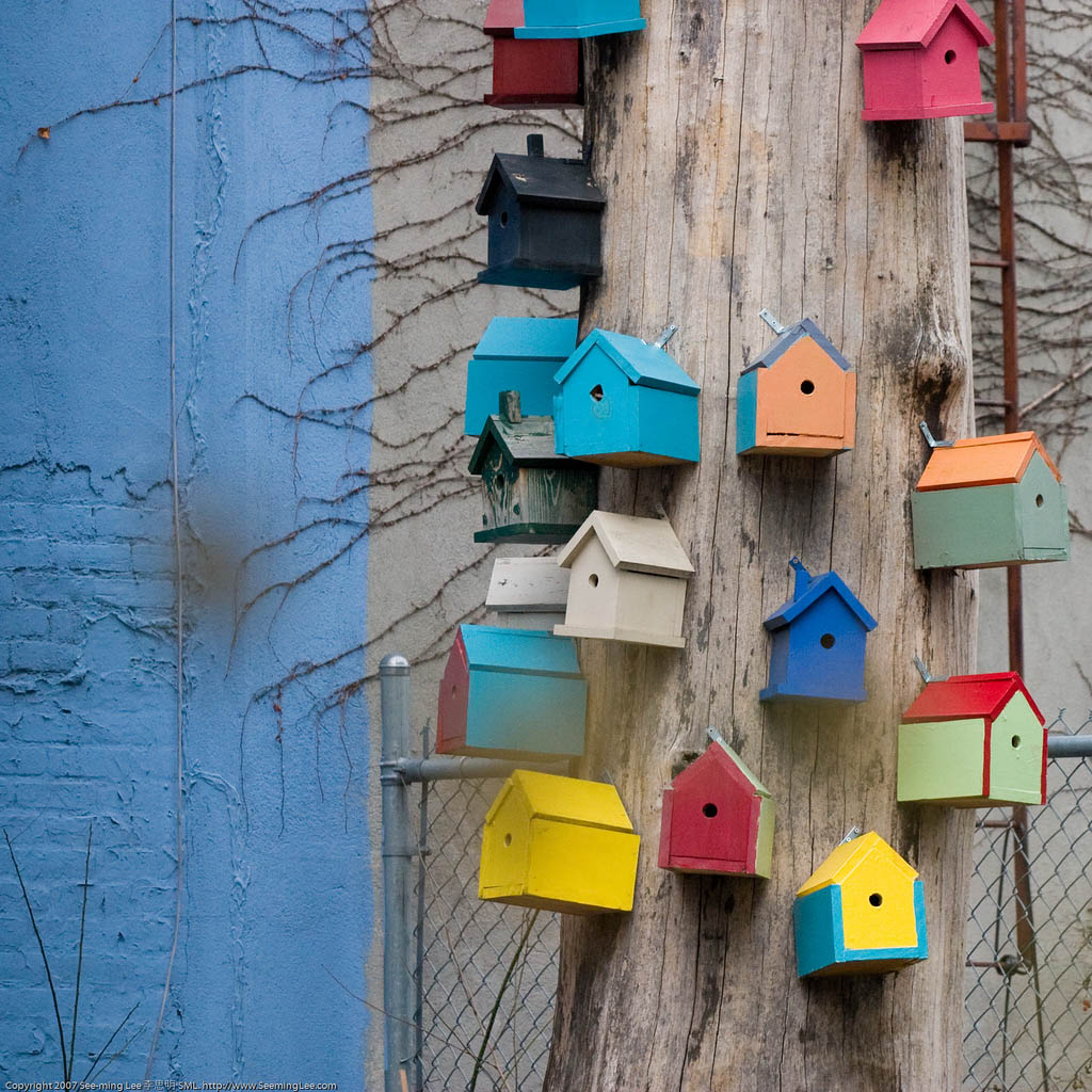 bird house10 Smarten Up Your Garden with Stylish Bird House