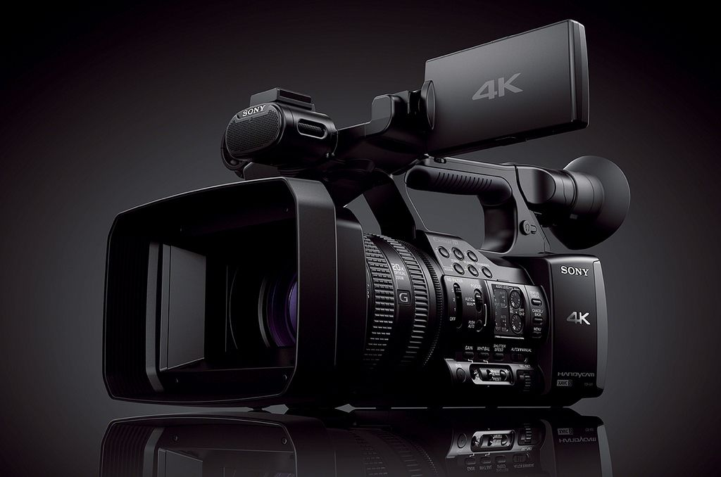 sony fdr ax1 Sony FDR AX1   Low Budget Filming 4K Handycam