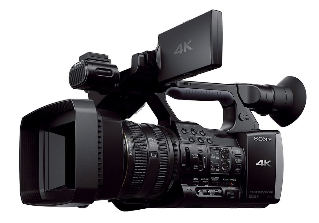 sony fdr ax13 Sony FDR AX1   Low Budget Filming 4K Handycam