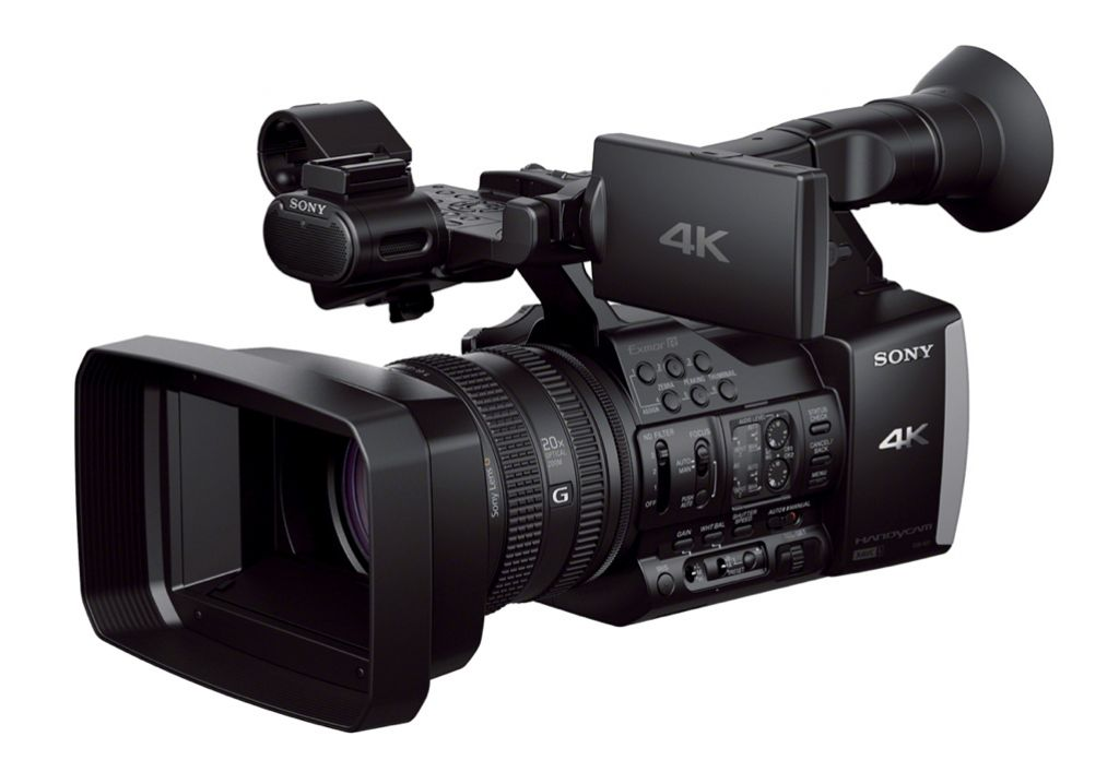 sony fdr ax14 Sony FDR AX1   Low Budget Filming 4K Handycam