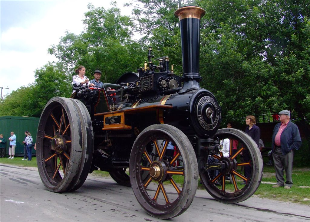 steam power1 Steam Powered Machines on The Road
