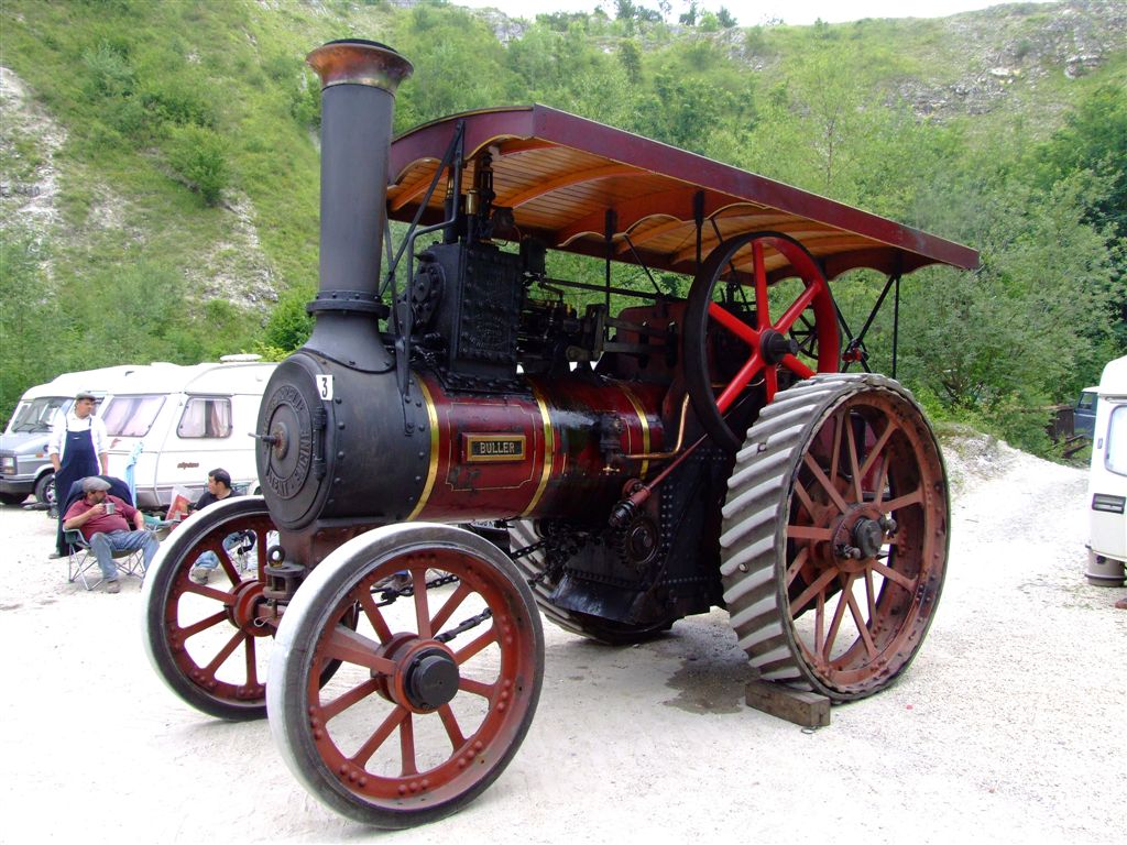 steam power5 Steam Powered Machines on The Road