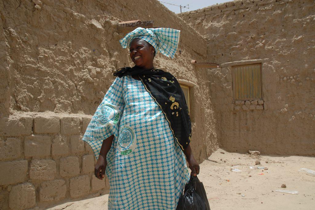 timbuktu11 Typical Street Scene in Timbuktu