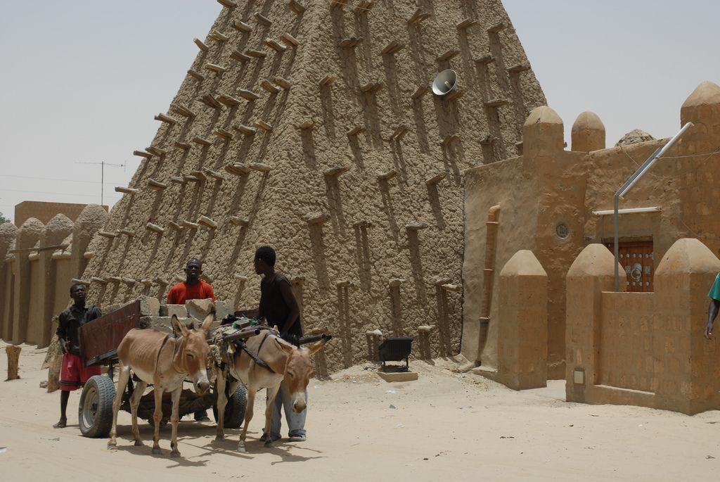 timbuktu2 Typical Street Scene in Timbuktu