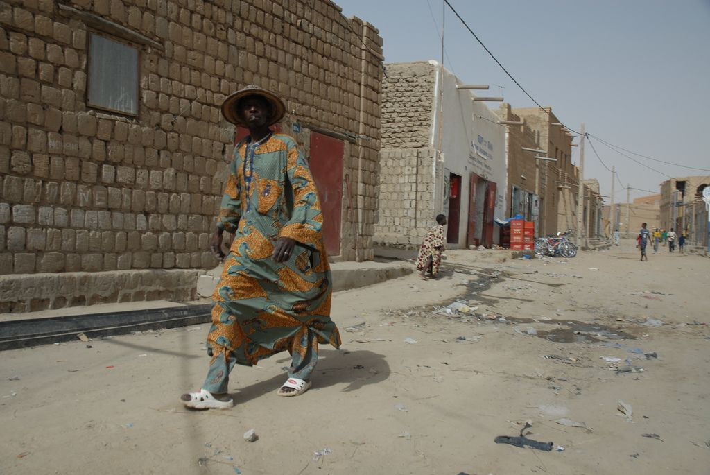 timbuktu3 Typical Street Scene in Timbuktu