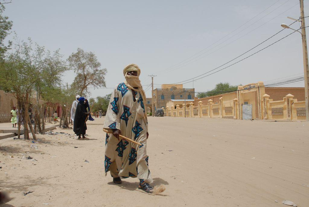 timbuktu4 Typical Street Scene in Timbuktu