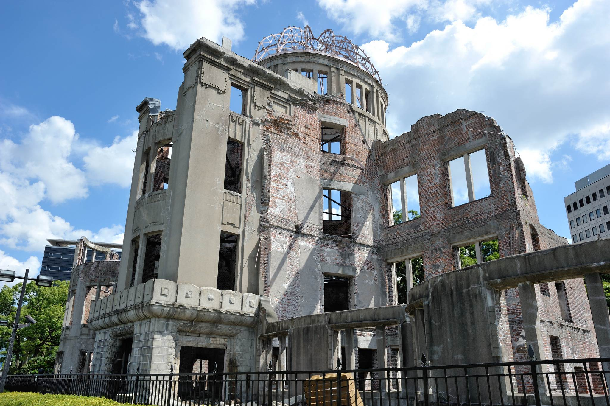 a bomb dome Walk around Genbaku Dome in Hiroshima