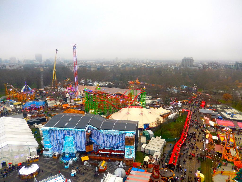 wonderland10 Winter Wonderland in Hyde Park, London